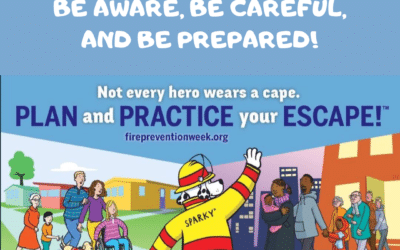 Fire Safety: Be Aware, Be Careful, and Be Prepared!